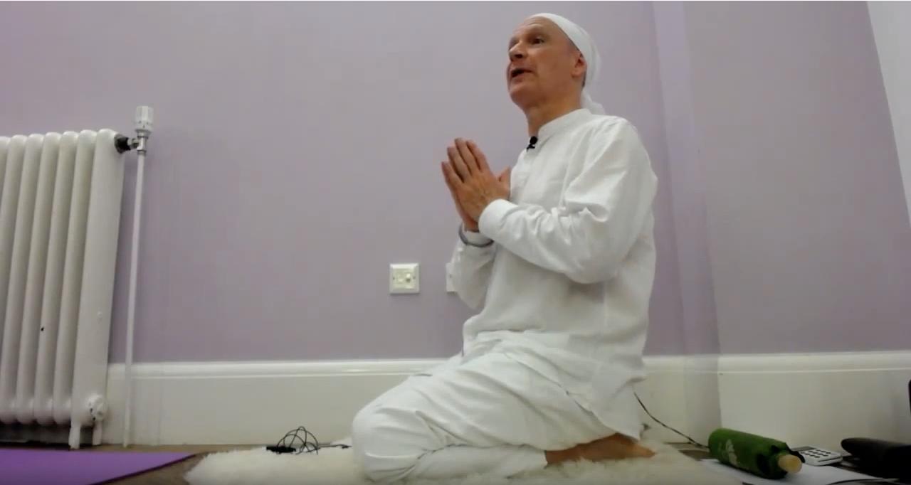 Release stress with sitali pranayam